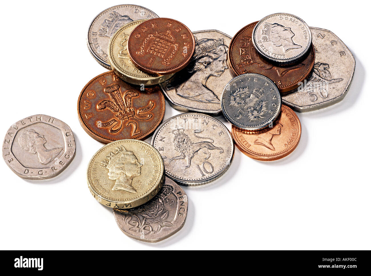 coins coin british pound and pence currency of great ...