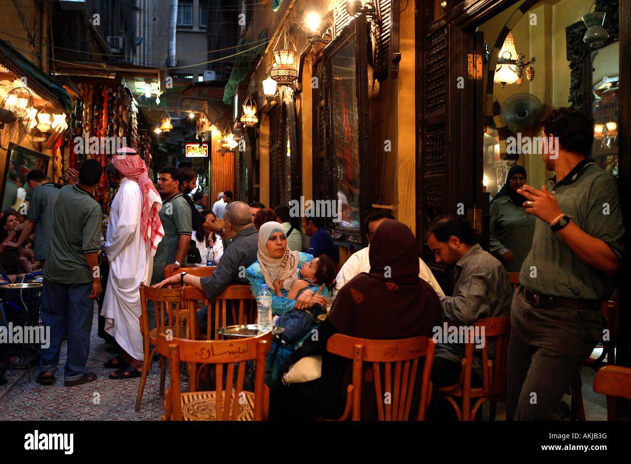 Egypt Cairo Downtown Inside Khan El Khalili Souk The