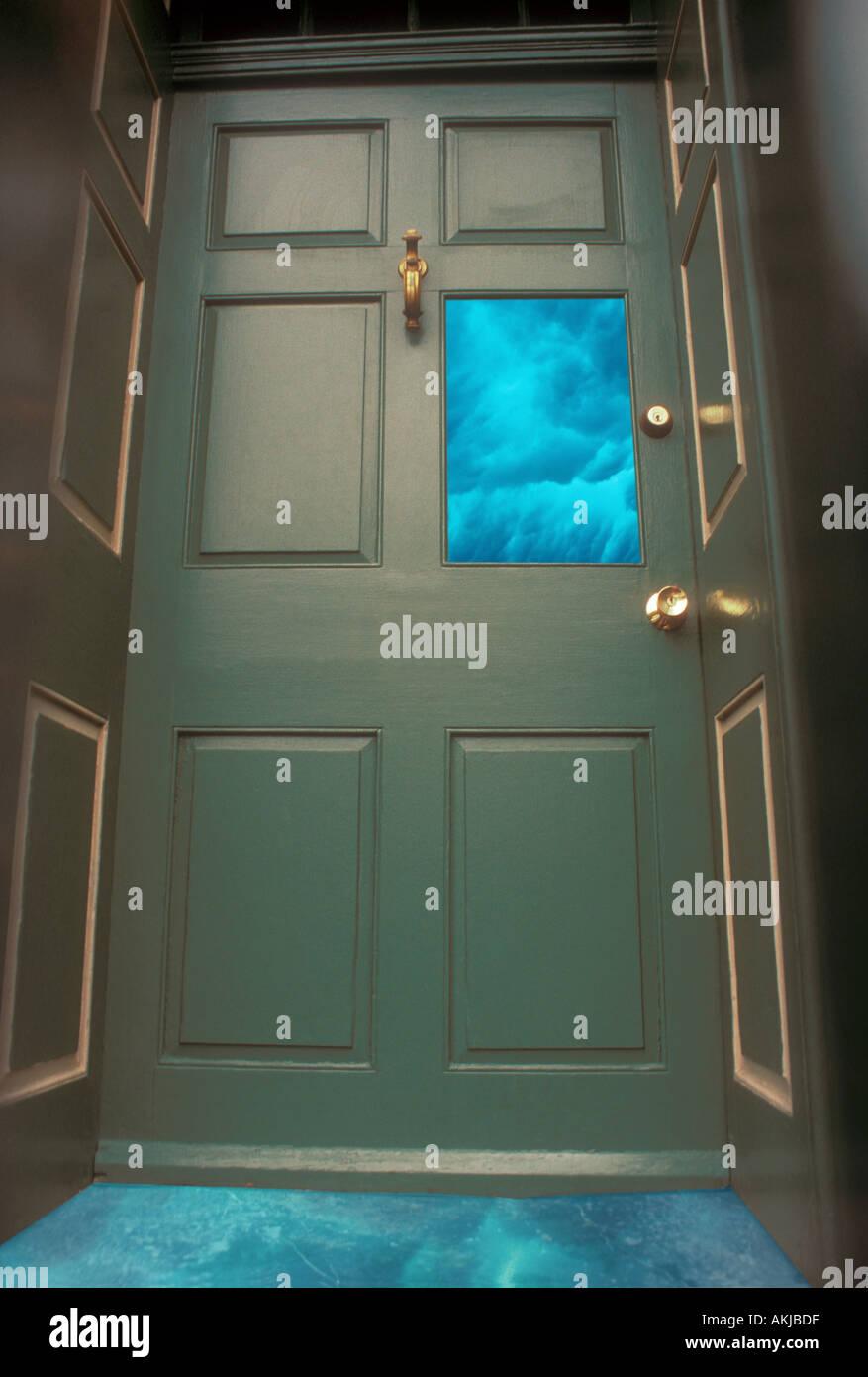 Strange Door & Strange Door Stock Photo: 2780126 - Alamy