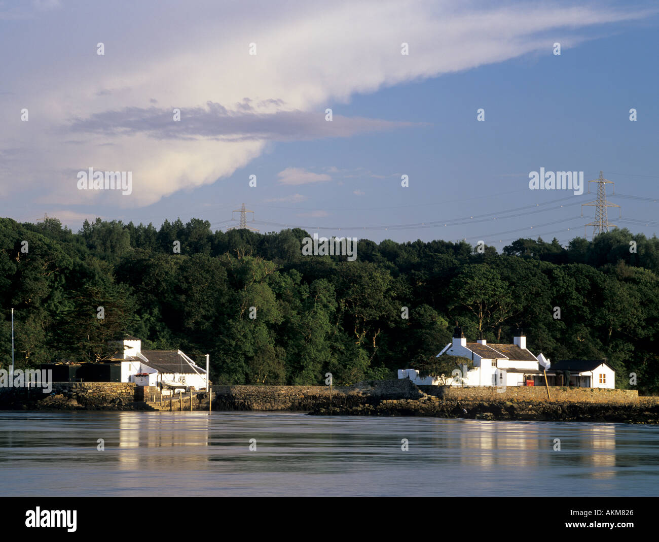Cottages In Ynys Gorad Goch Or Quot White Bait Quot Island In The