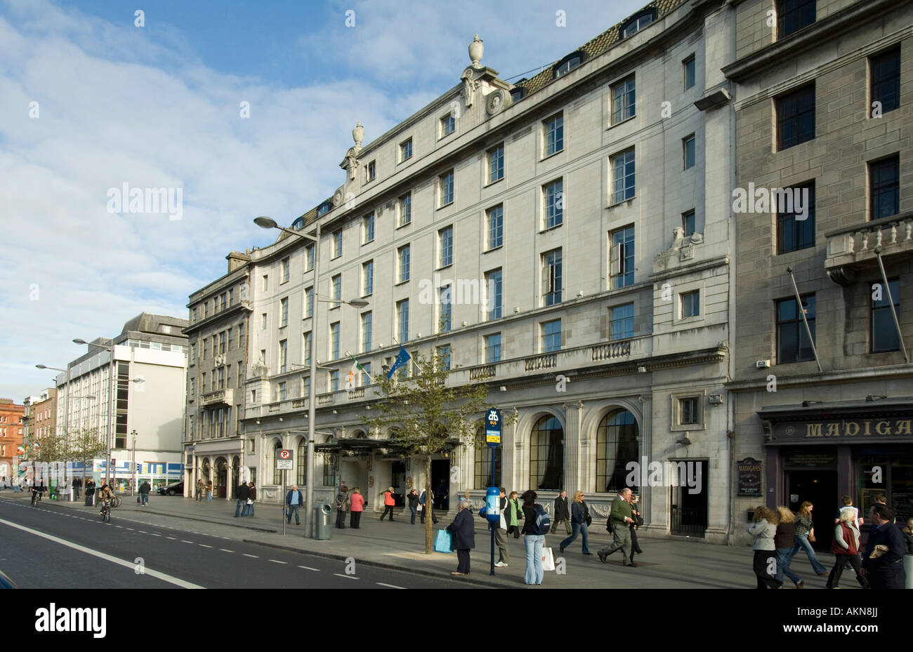 The Gresham Hotel on O Connell Street Dublin Ireland Stock ...