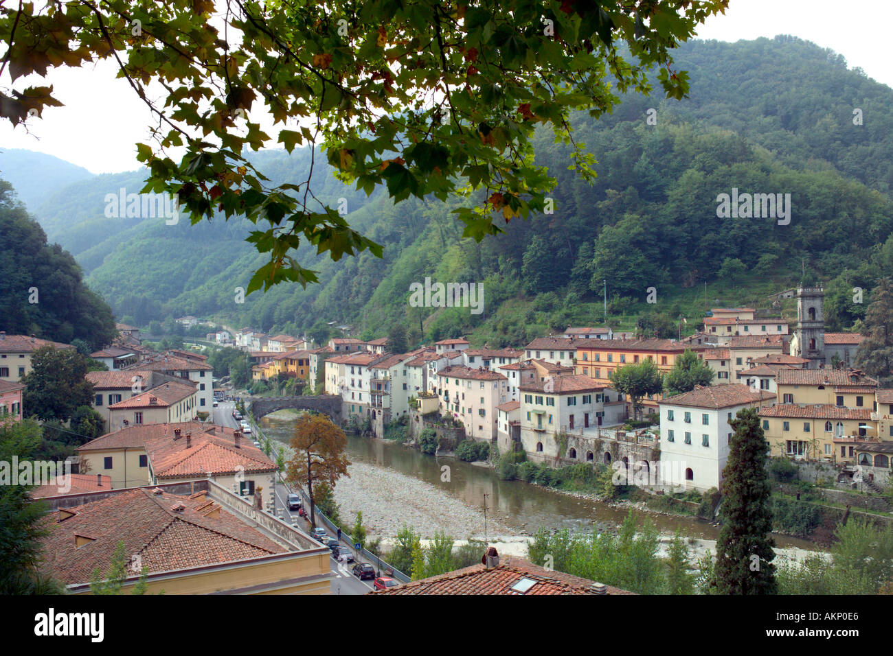 bagni di lucca northern tuscany italy spa town river lima lucca