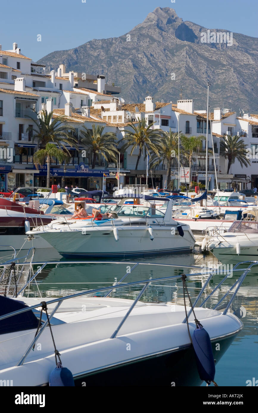 Marbella malaga province costa del sol spain puerto jose for Puerto banus costa del sol