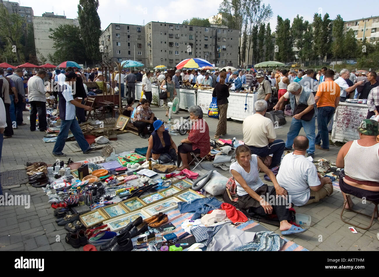 flea market in bucharest romania stock photo royalty free