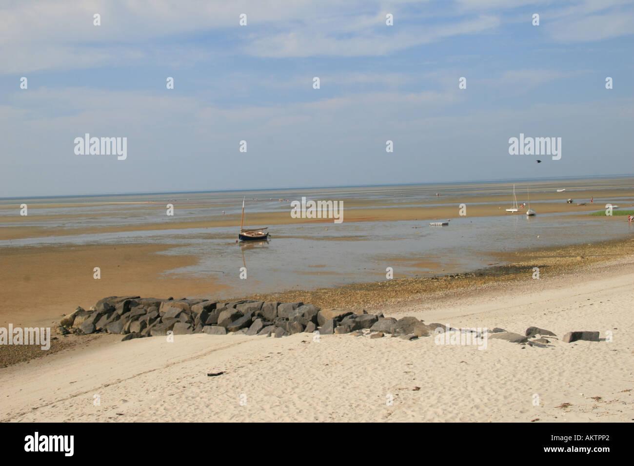 Lovely Cape Cod Low Tide Part - 2: Low Tide Looking NE On Cape Cod Bay, Brewster, Mass.