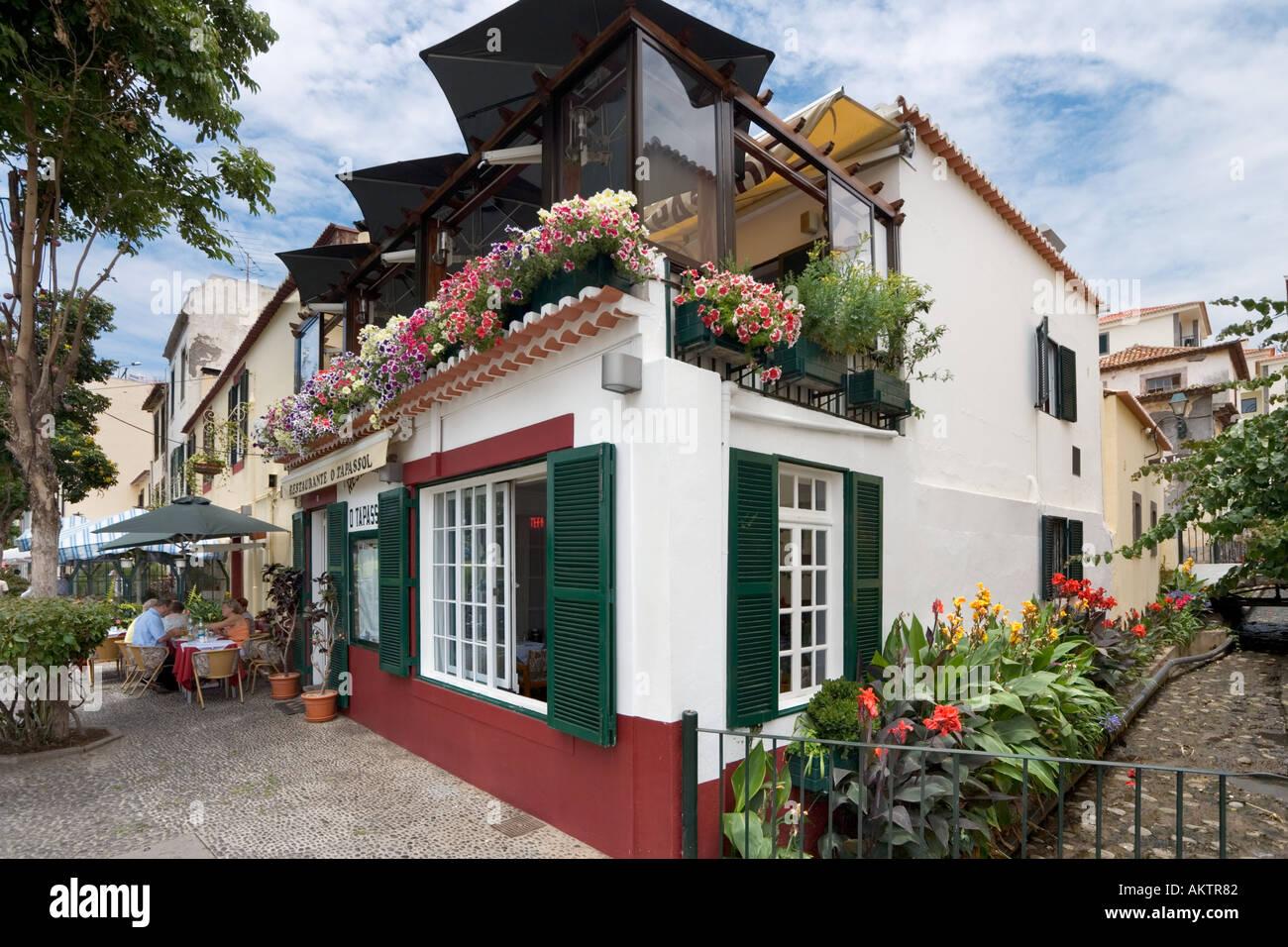 Restaurant In The Old Town (zona Velha), Funchal, Madeira ...