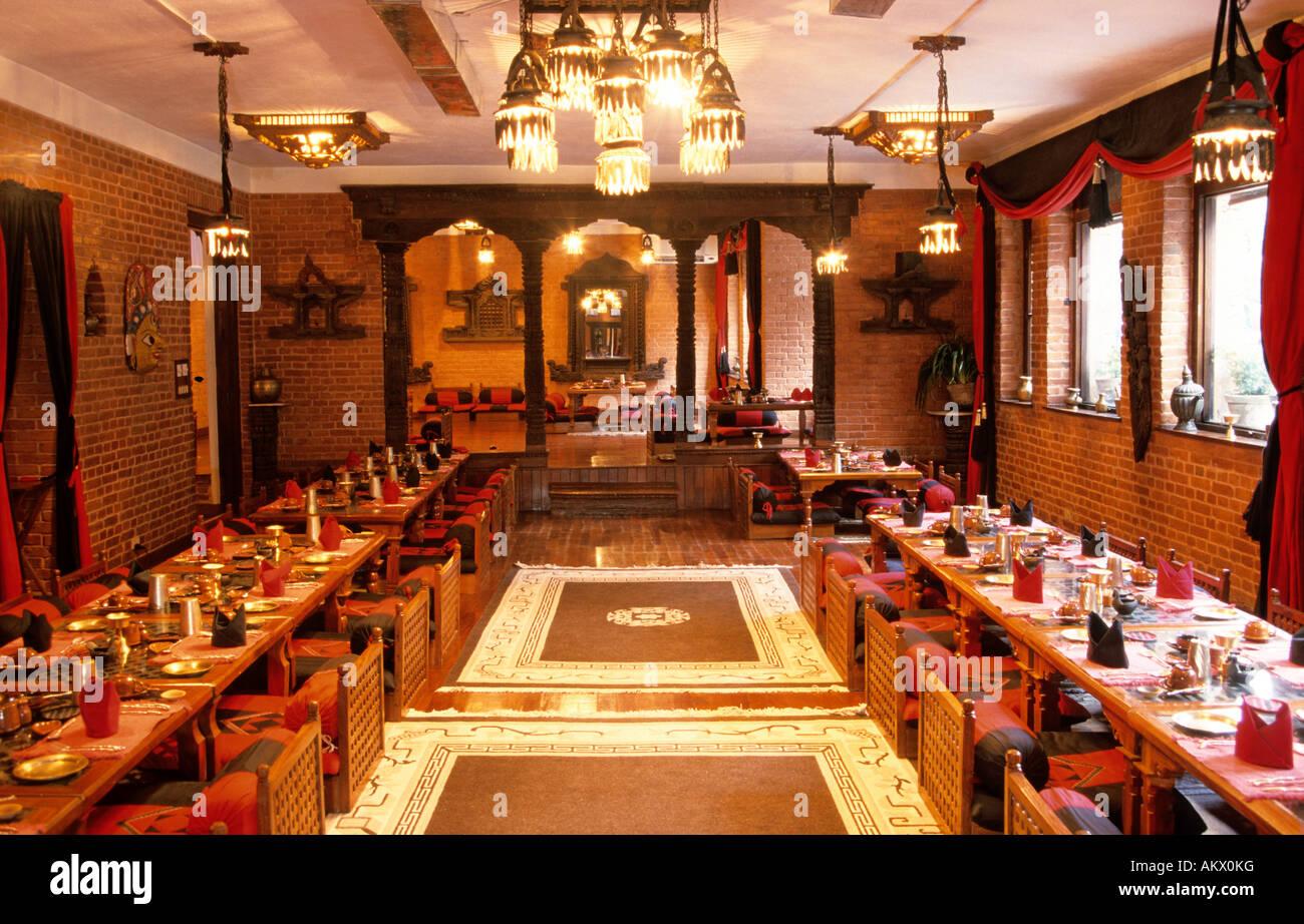 Nepal kathmandu dwarika s hotel stock photo royalty