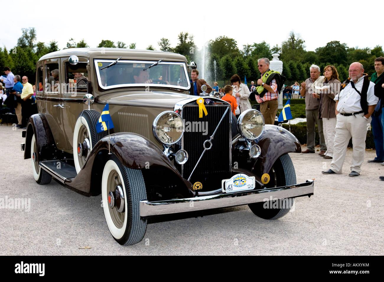Volvo pv 654 s 1933 1935 vintage car gala schwetzingen baden