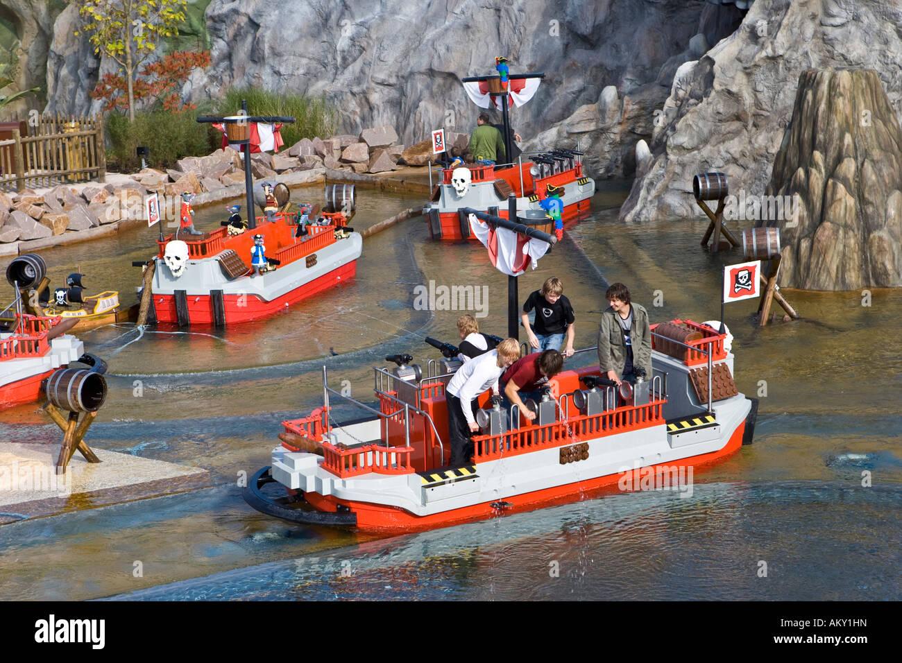 Pirateland, Legoland, ...