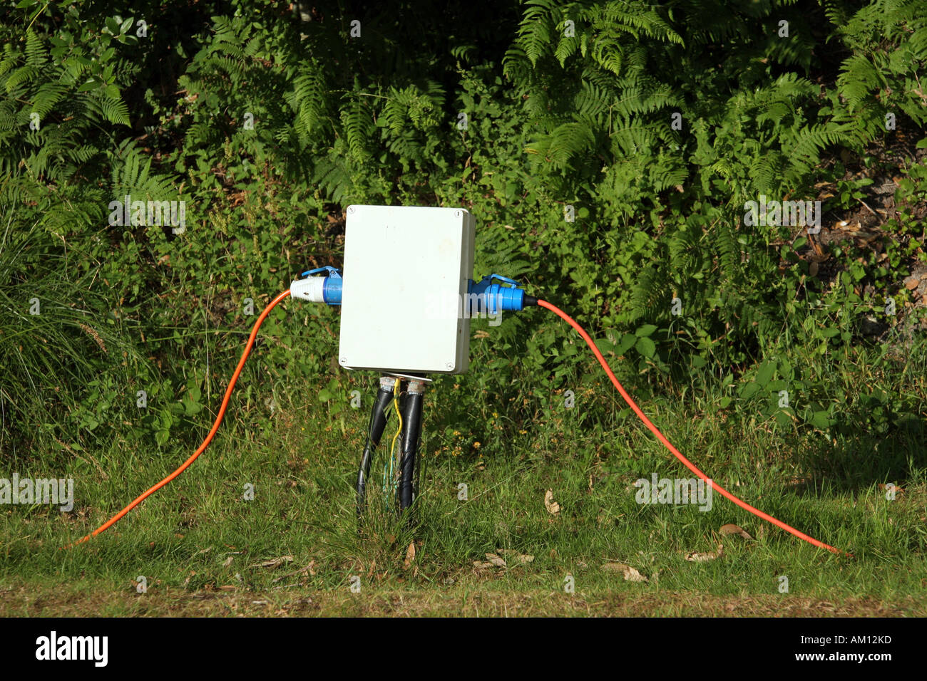 electrical hookup for camping We have five electric hook-up points located in their own camping field there is plenty of space between them although this is the smaller of the two camping fiields.