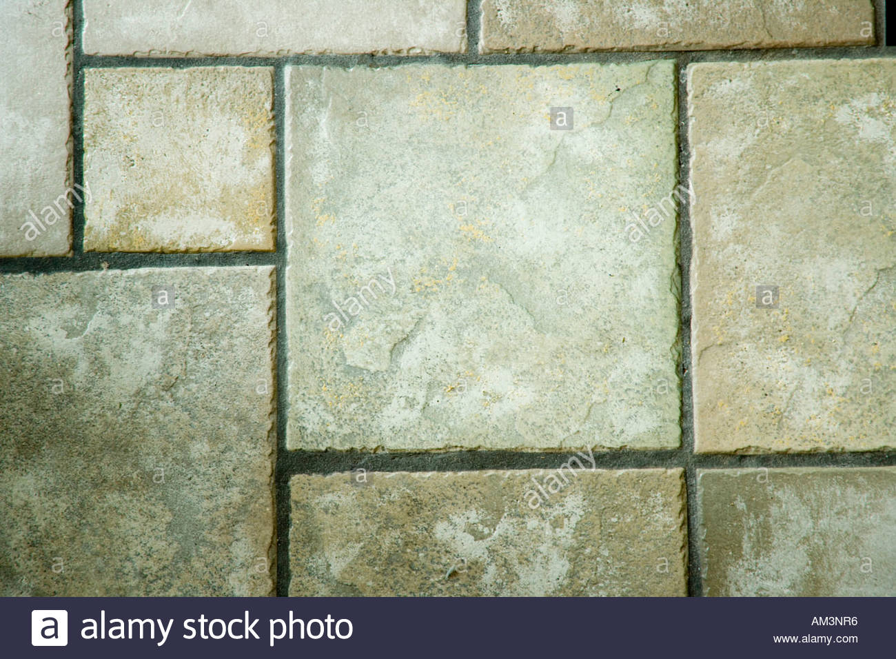 Ceramic tile no grout lines
