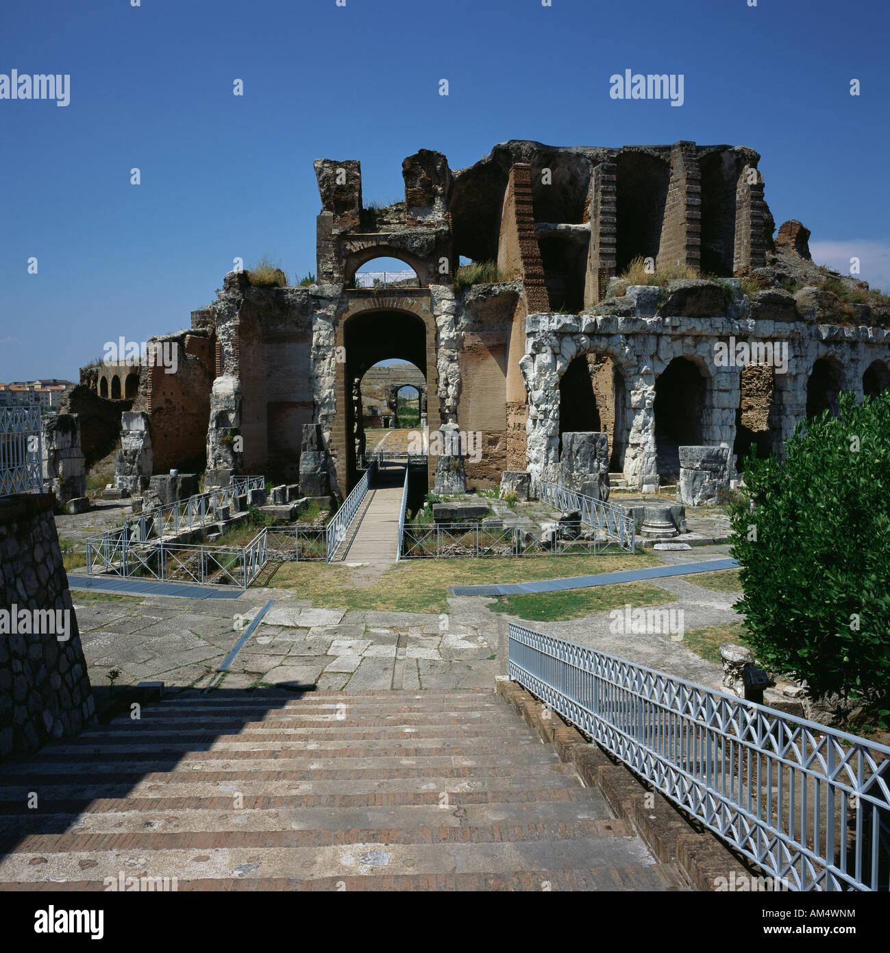 Santa maria capua vetere campania italy ancient remains of - Piscina santa maria capua vetere ...