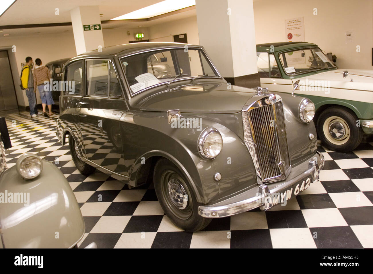 Beautiful Mayflower Car Shipping #3: Stock Photo - Triumph Mayflower Car In The Museum Of Transport Glasgow  Scotland UK