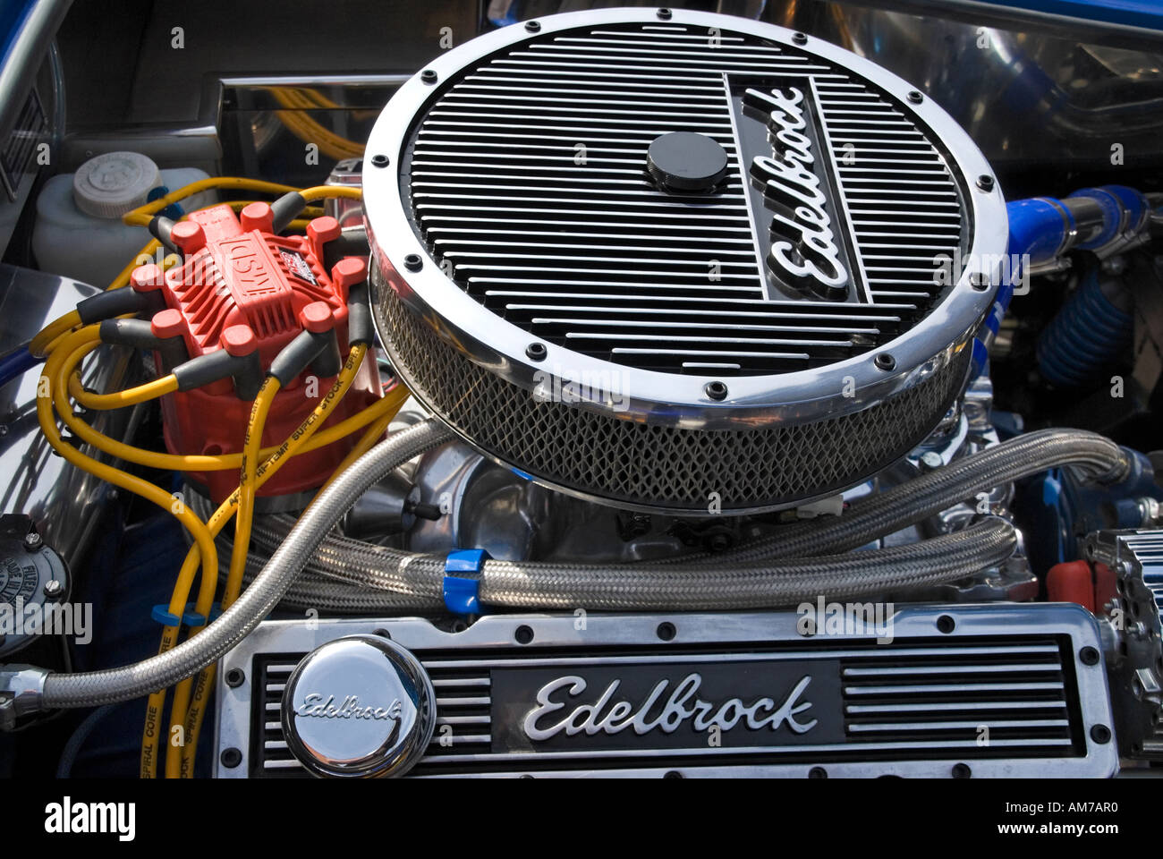 Chevrolet Engine Air Cleaner : L small block chevy v engine with pancake air filter