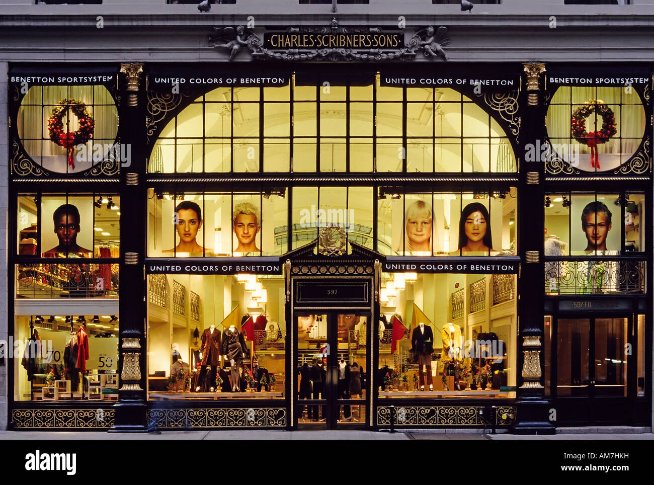Magnificent historic front of the former bookshop scribner for Benetton usa online shop