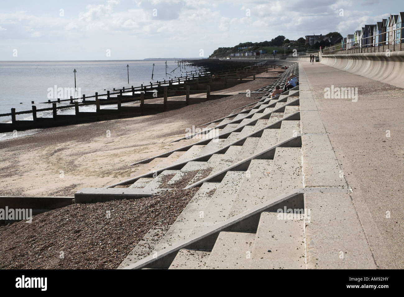 coastal defences Societal concern (both real and imagined) over coastal erosion and flooding, often results in construction of sea defences to protect property.