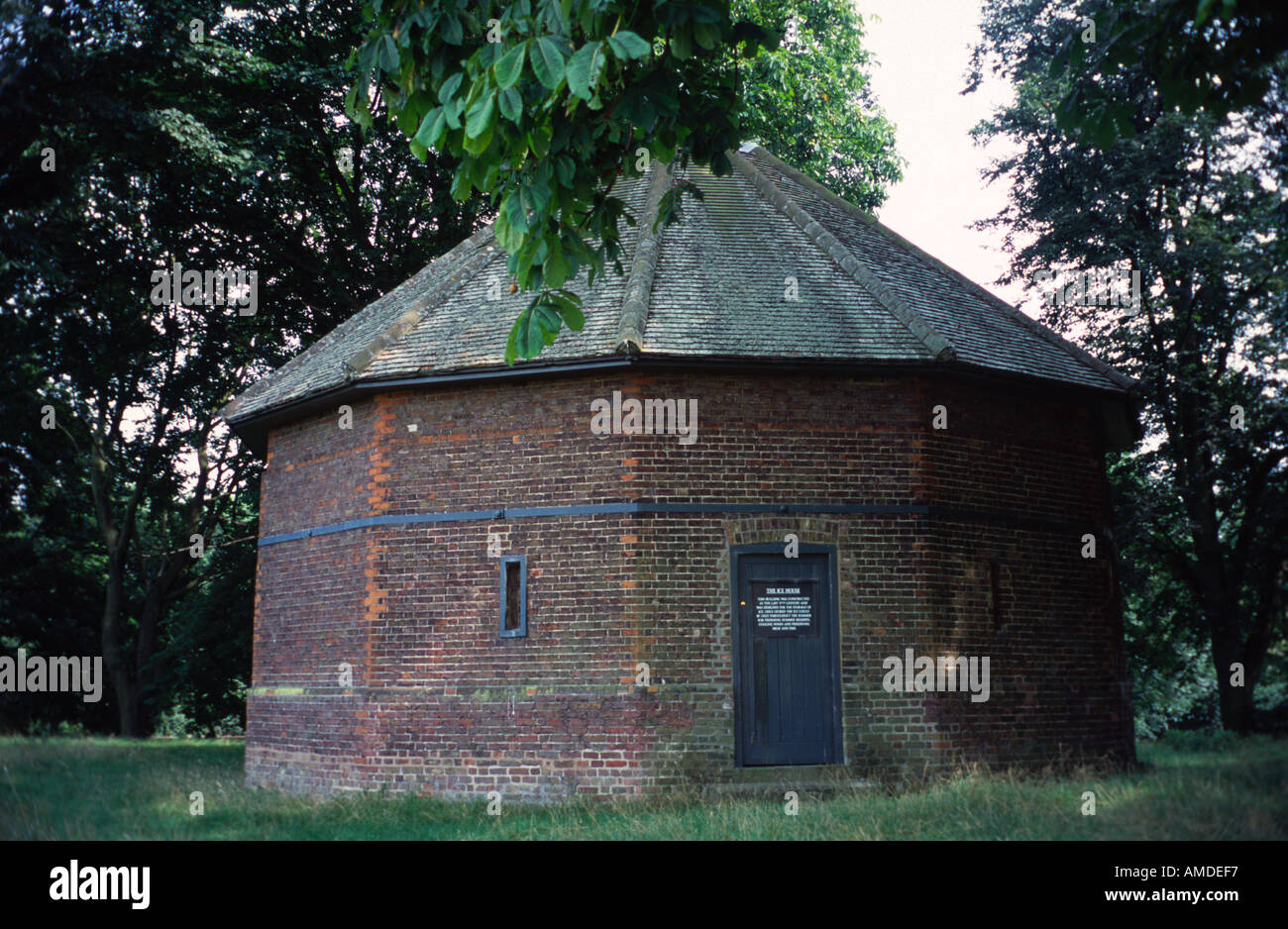 The 12 Sided Ice House In Home Park Hampton Court Middlesex