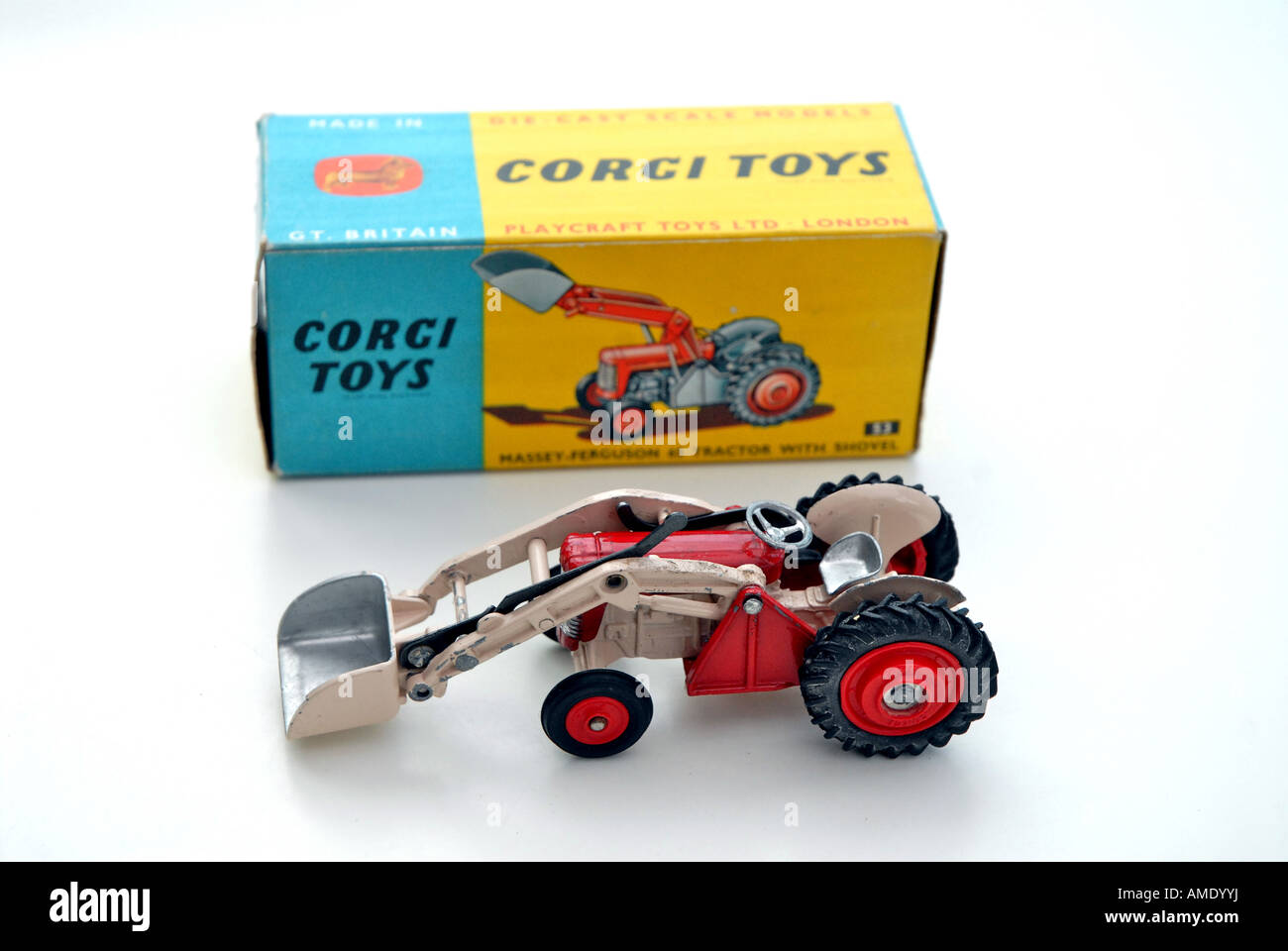 Vintage toys have reached high values amongst collectors Corgi ...