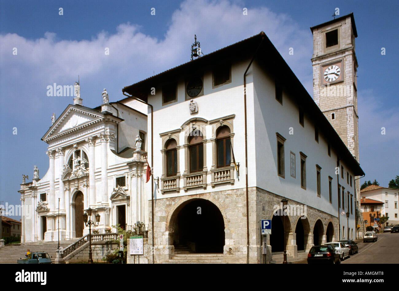 Italien veneto julisch venetien friuli friaul san for Piazza del friuli