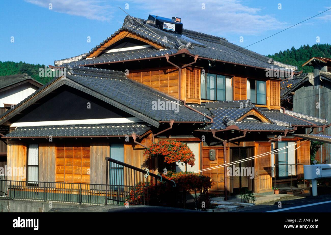 japan shikoku traditionelles haus bei kochi - Haus Japan
