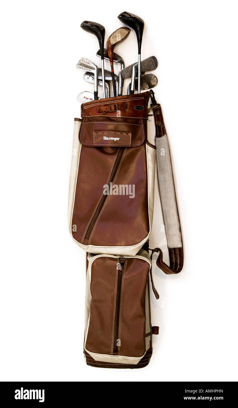 Old Fashioned Golf Bags