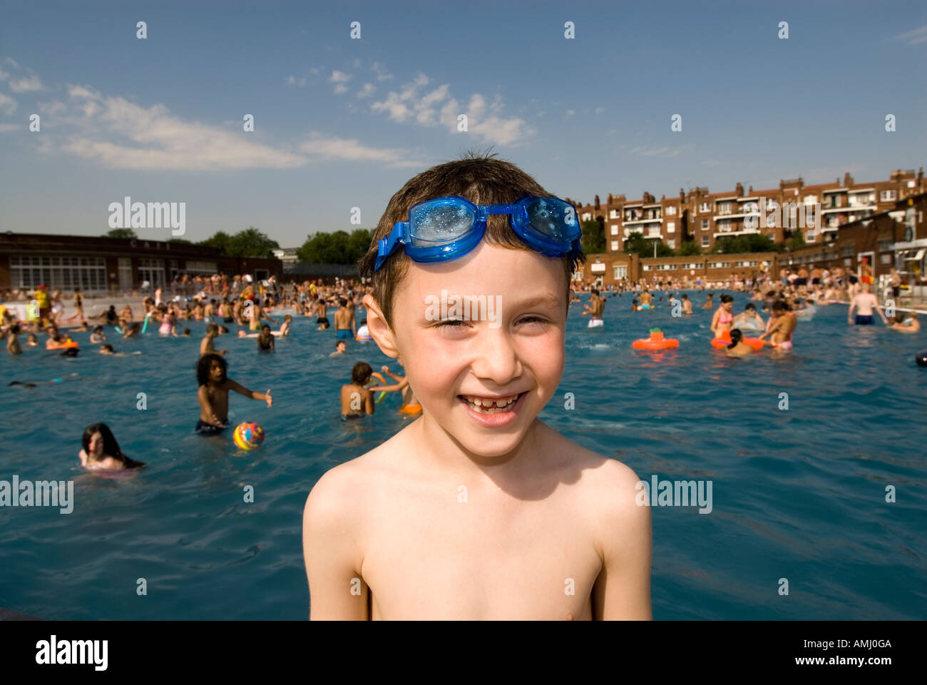Boy Wearing Swimming Goggles Stock Photos & Boy Wearing Swimming.