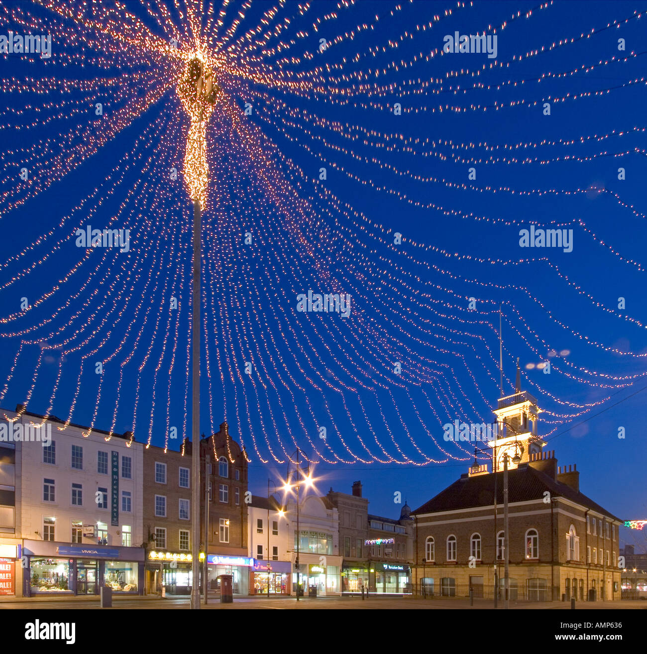 Christmas Lights On Cleveland Public Square: Christmas Lights At Stockton On Tees Cleveland England
