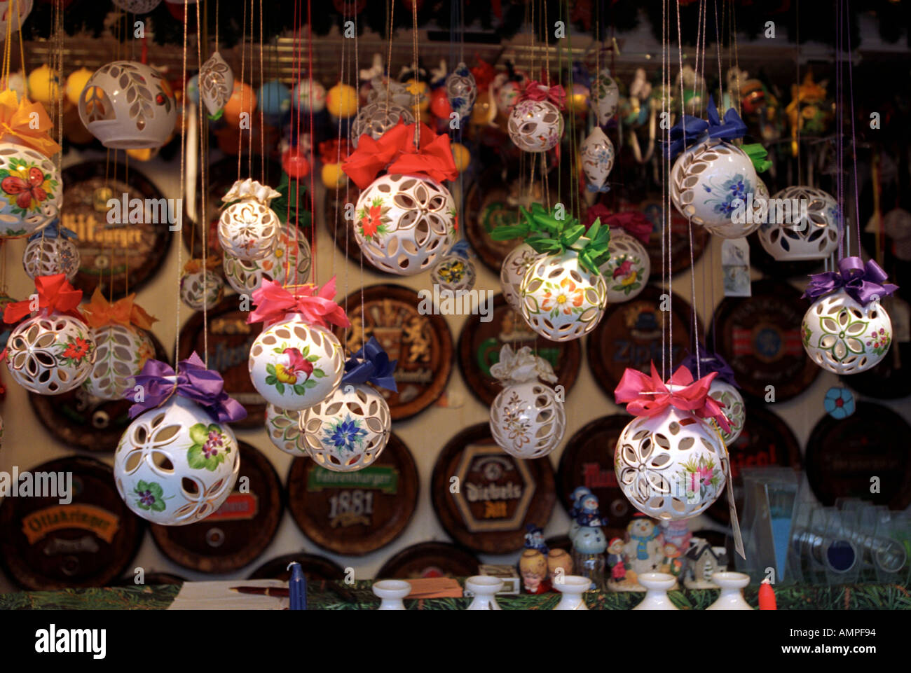 Christmas decorations for sale in vienna austria stock for Christmas decoration 94