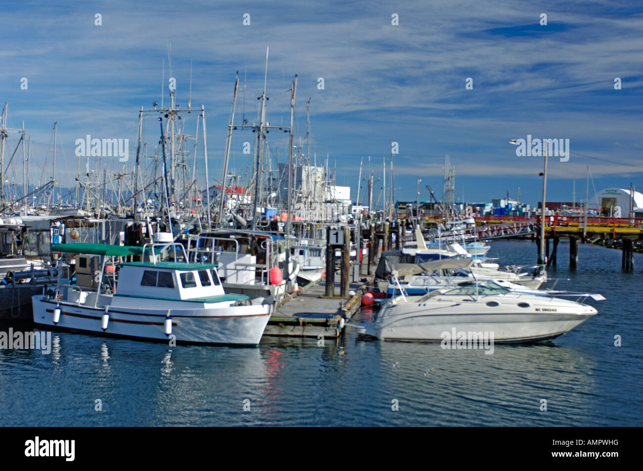 Fishing boats at french creek vancouver island bc canada for Vancouver island fishing