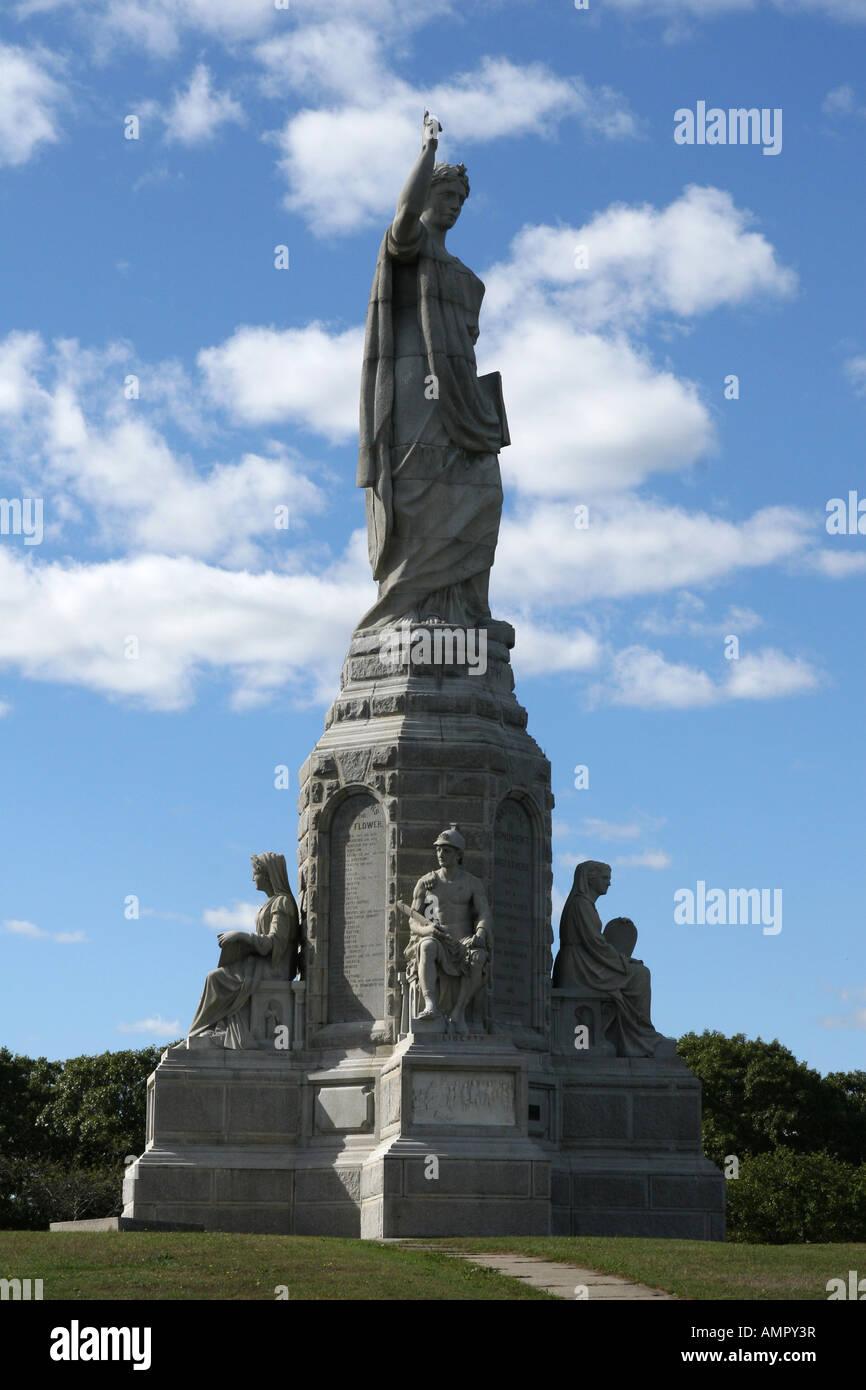 Pilgrim National Monument Plymouth New England