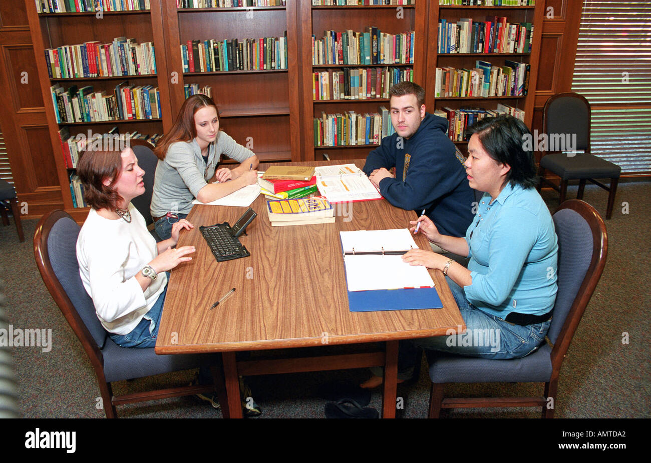 Do college courses involve group work?