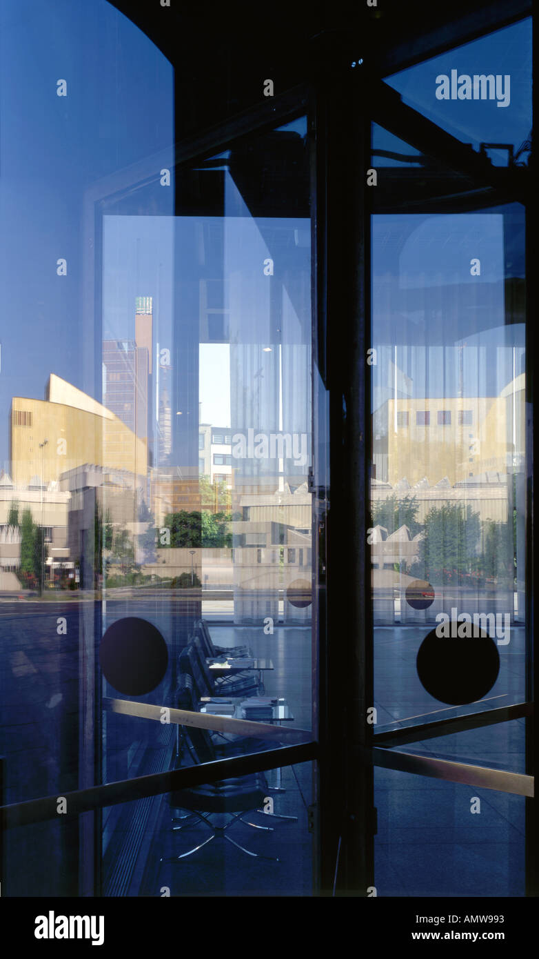 New National Gallery Berlin 1965-1968. Reflections on revolving doors. Architect Ludwig Mies van der Rohe & New National Gallery Berlin 1965-1968. Reflections on revolving ...