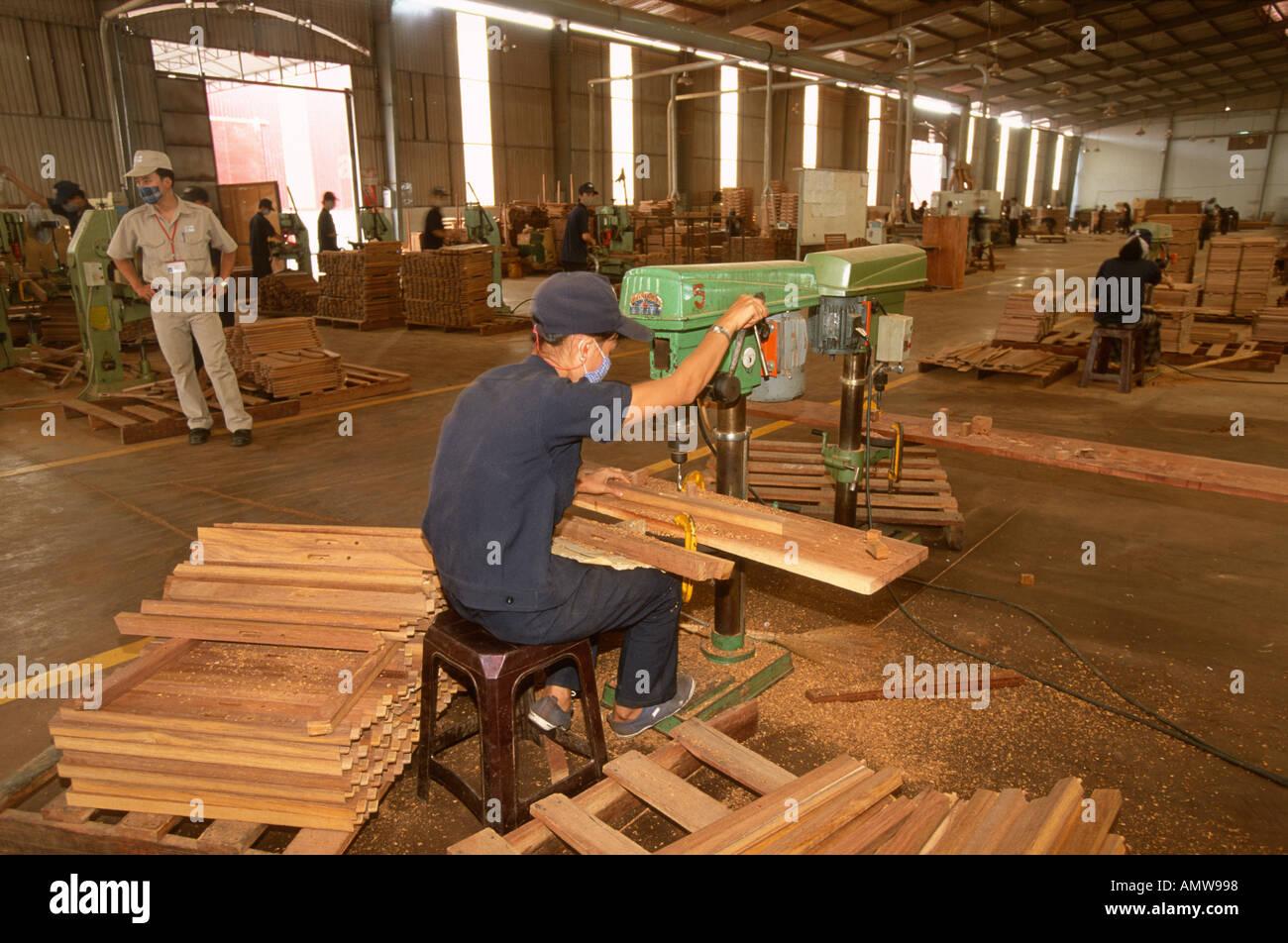 Factory making garden furniture for export to Europe Ho Chi Minh Saigon  Vietnam. Factory making garden furniture for export to Europe Ho Chi Minh