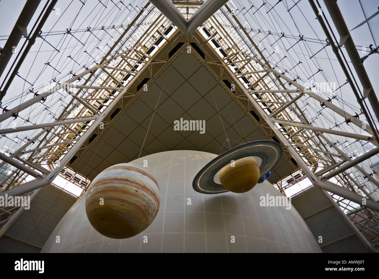American Museum Of Natural History Space Theater Planetarium