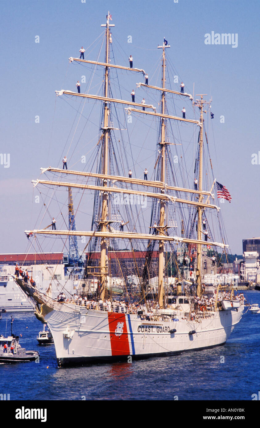 Uscgc Eagle Tall Ship Arrives Portsmouth New Hampshire