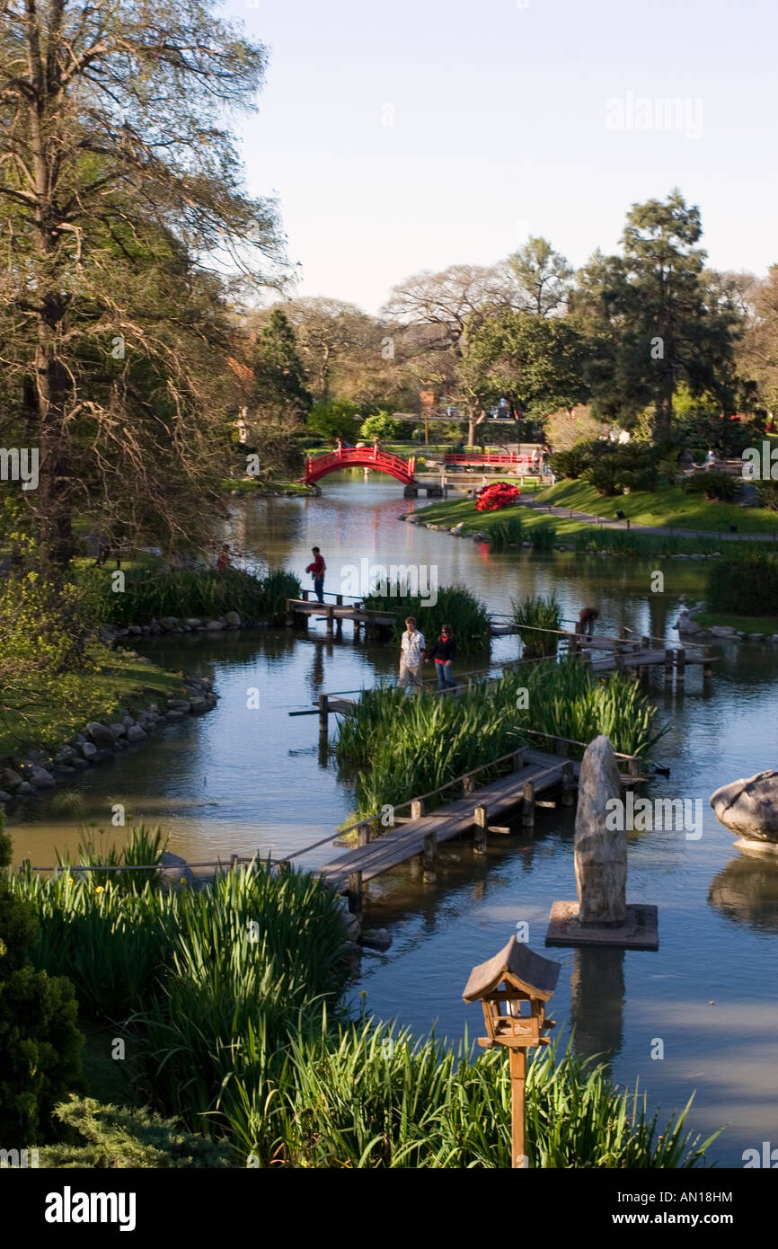 Japanese Garden, Buenos Aires Stock Photo, Royalty Free