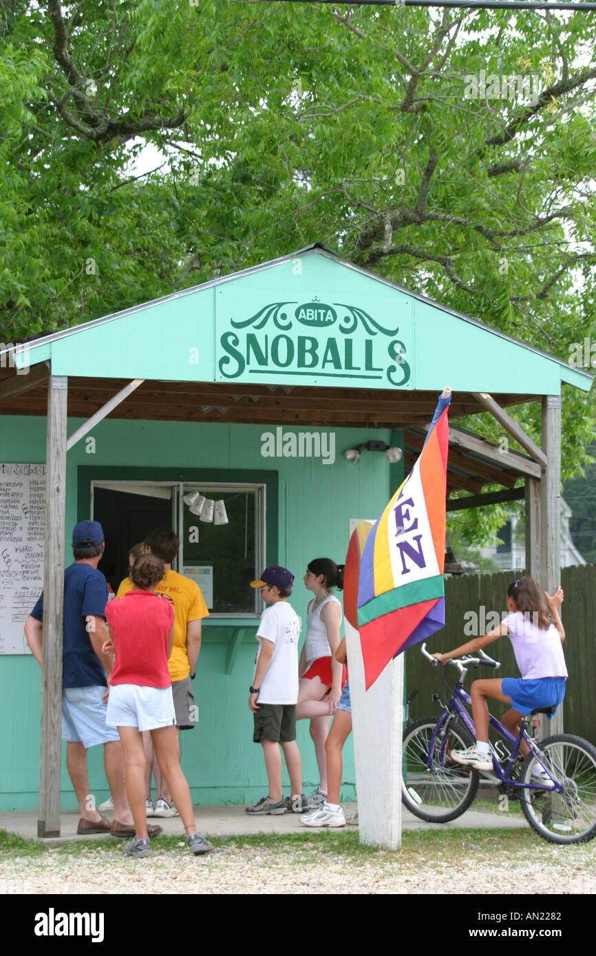 Louisiana St Tammany Parish Abita Springs Ice Cream Stand Near