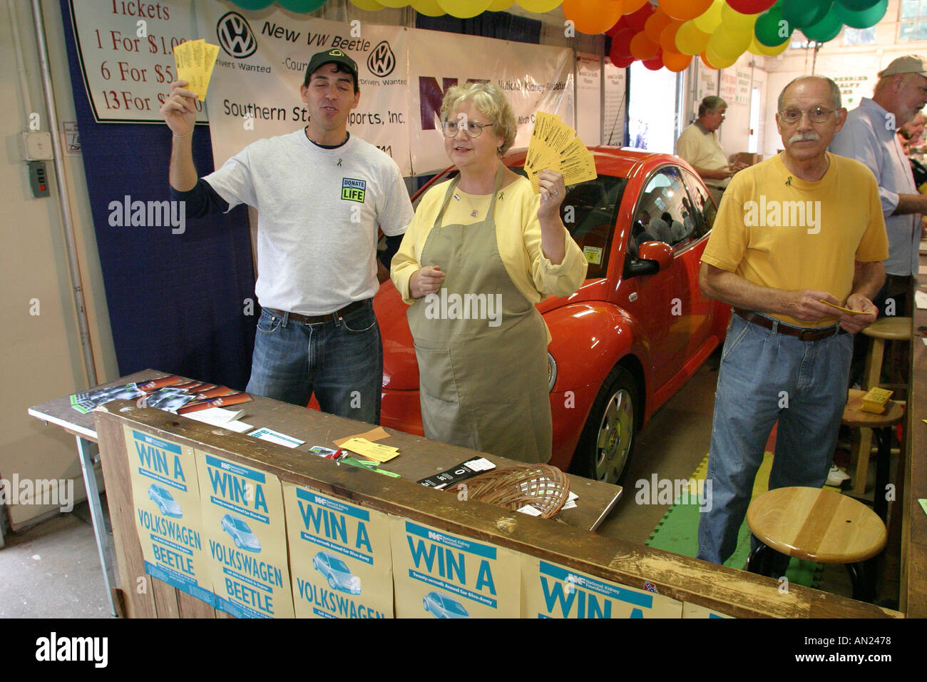 raleigh north carolina state fair selling raffle ticket for new car stock photo royalty free. Black Bedroom Furniture Sets. Home Design Ideas
