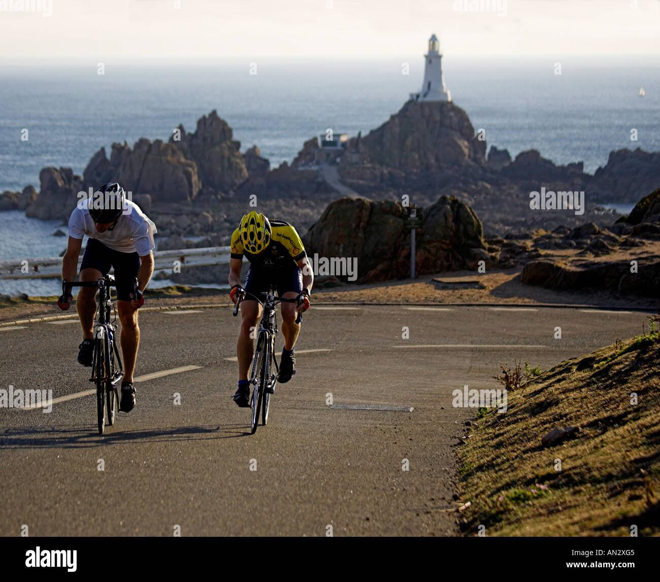 Jersey Channel Islands Uk Great Britain Uk Gb Road Race Corbiere