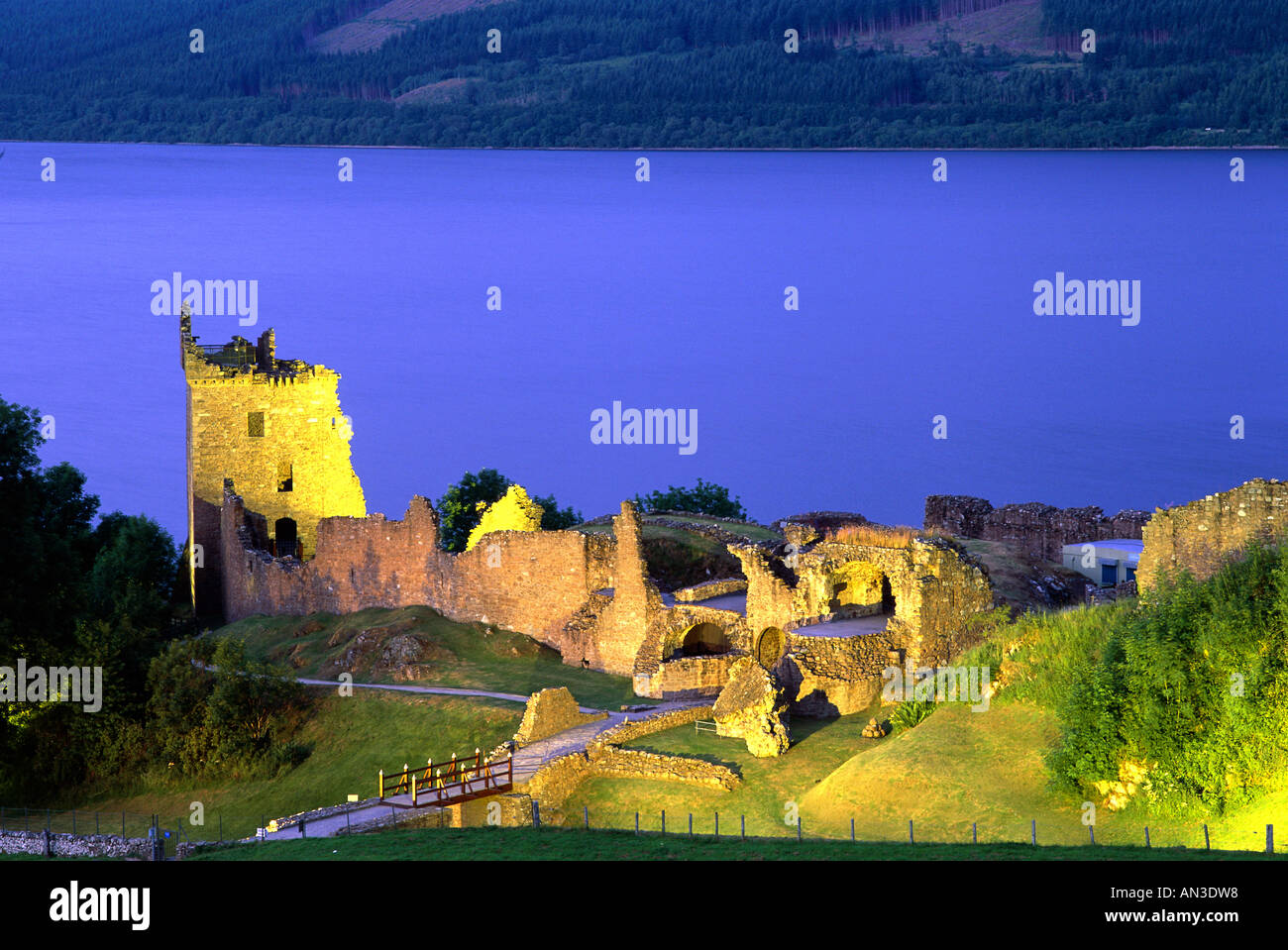 Urquhart Castle At Night Urquhart castl.
