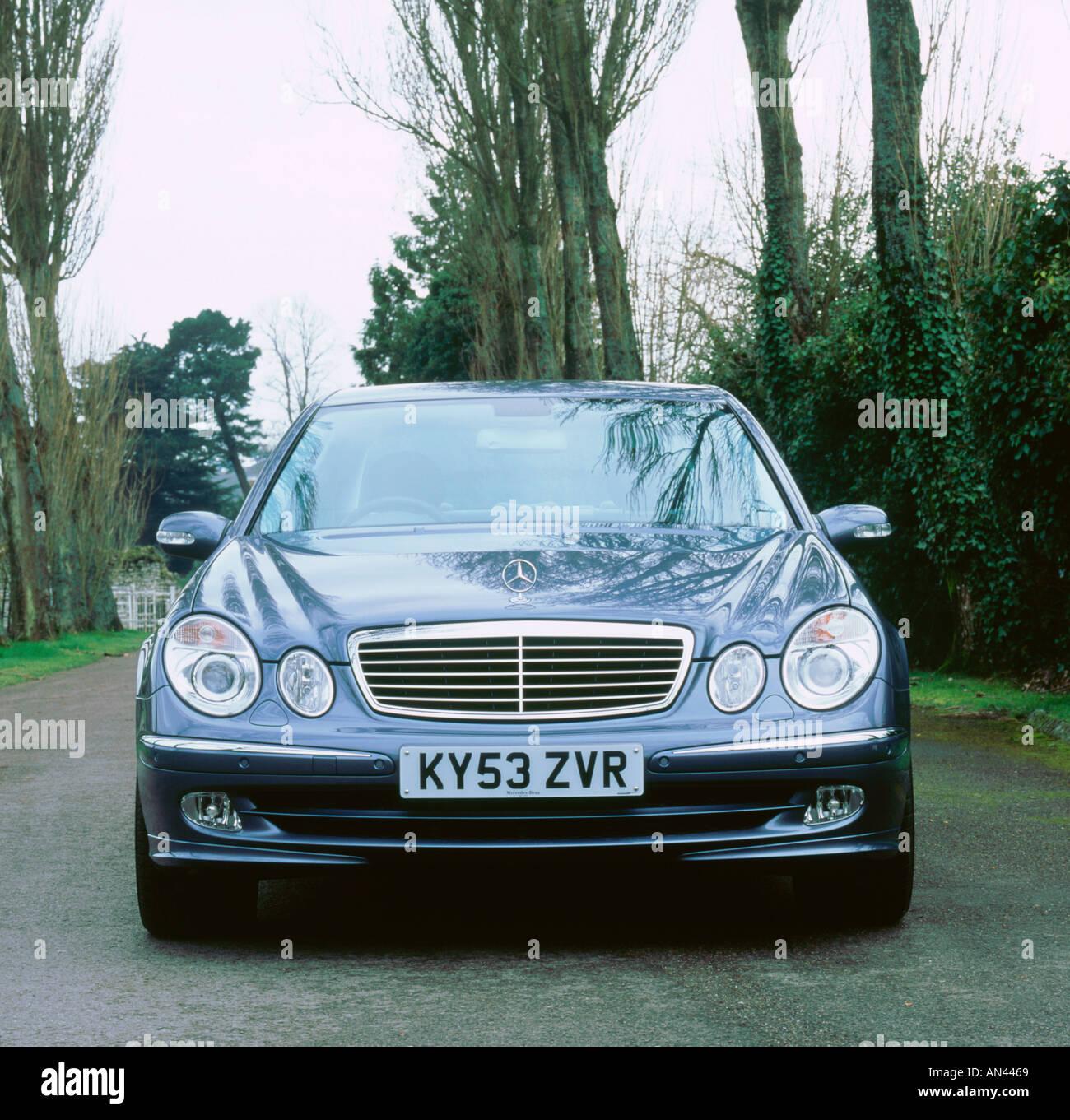 All Types 2003 benz e320 : 2003 Mercedes Benz E320 cdi Avantgarde Stock Photo, Royalty Free ...