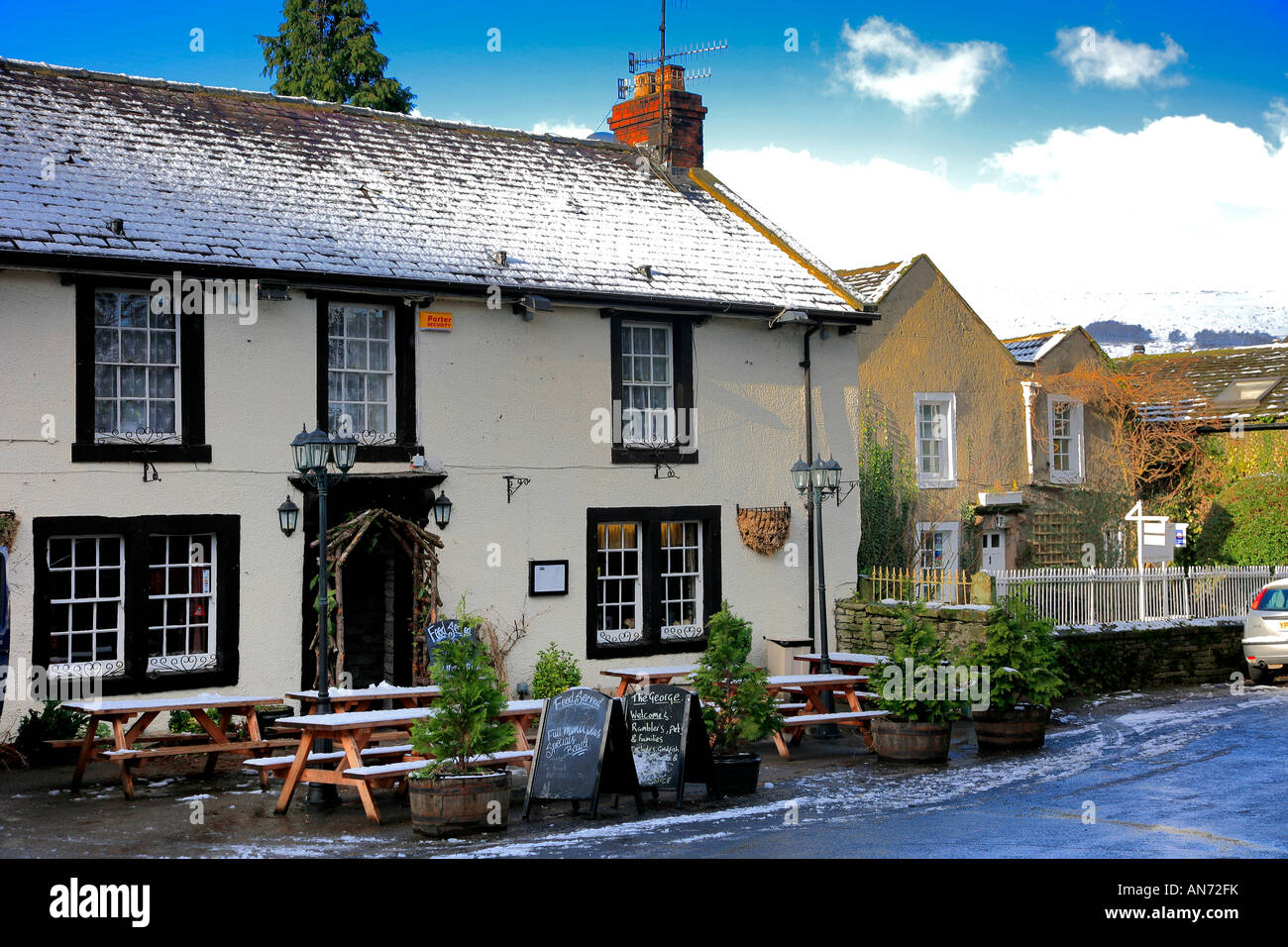 the george pub castleton town hope valley peak district national