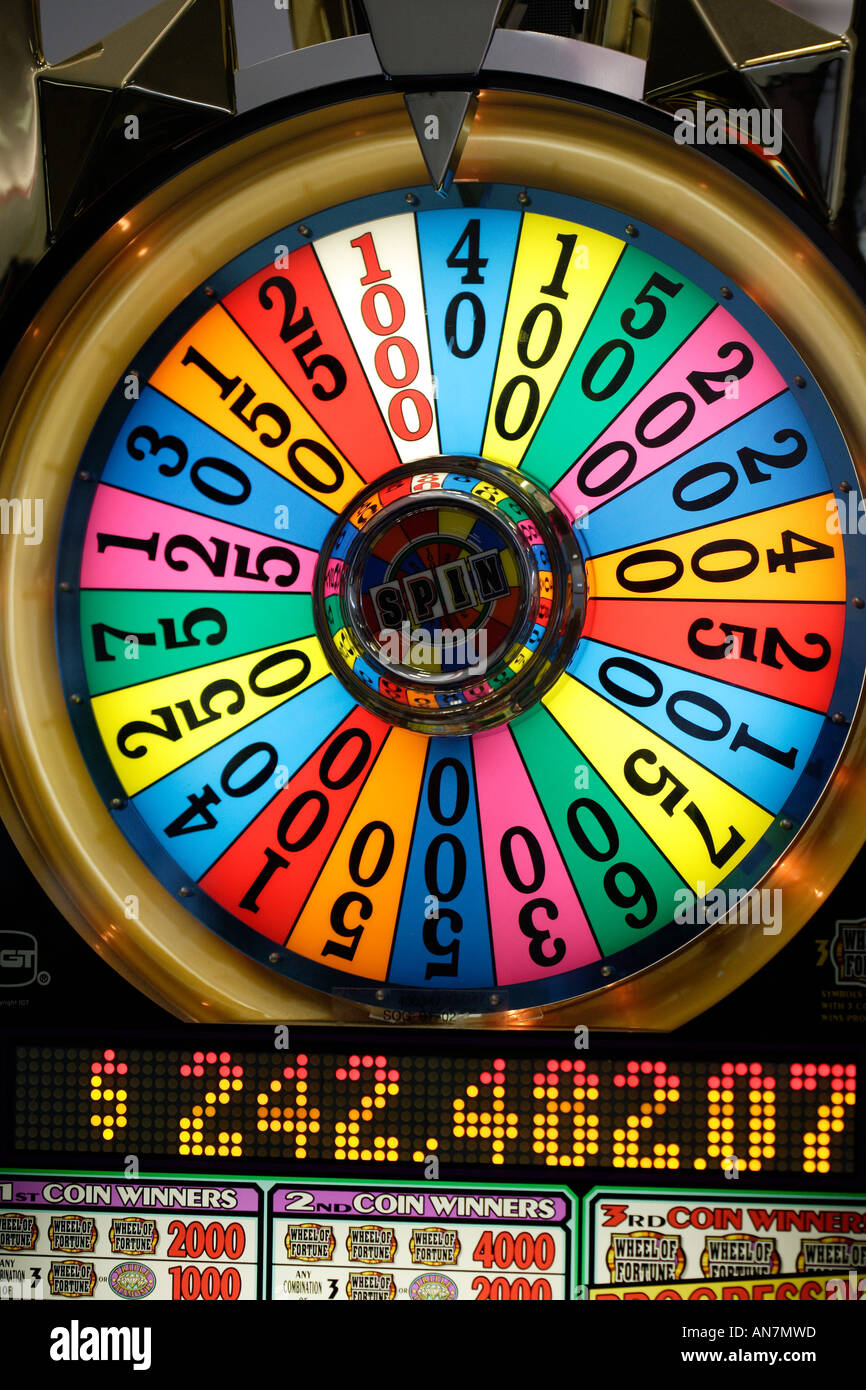 free slot games wheel fortune