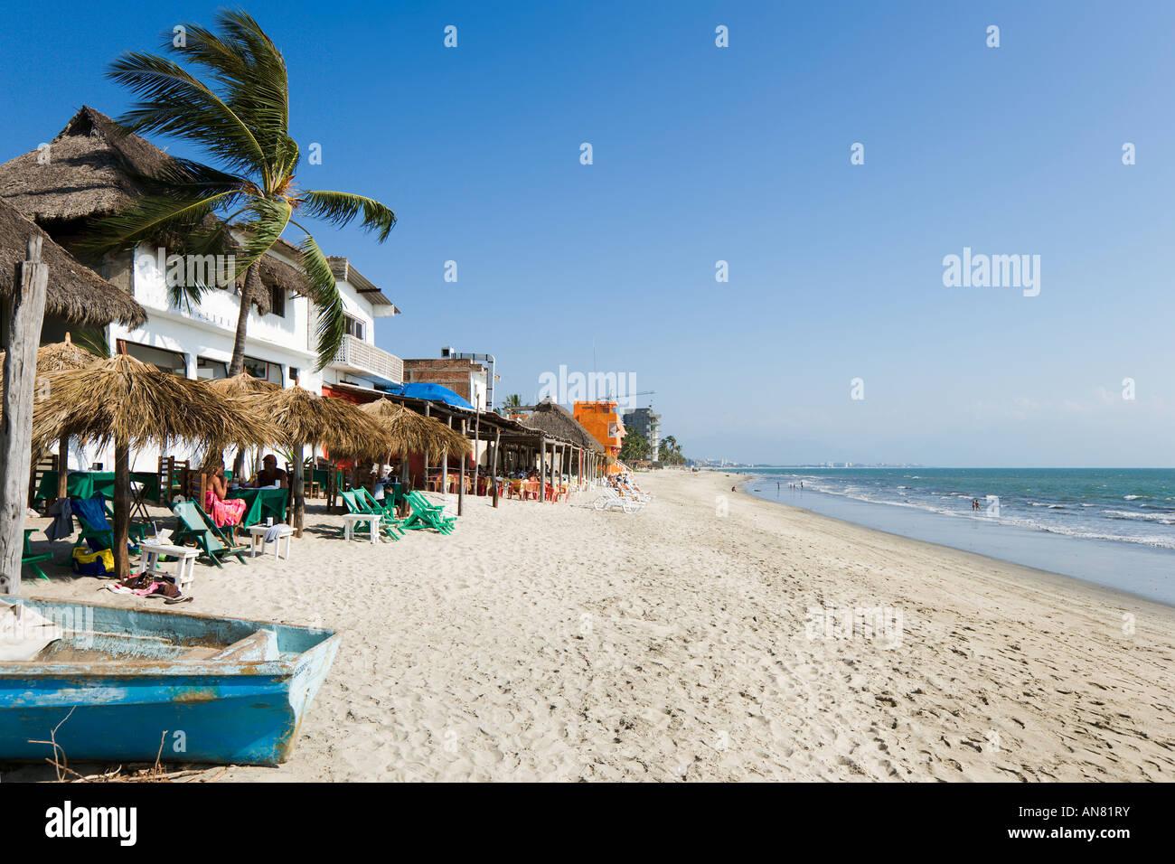 Beach In Town Centre Bucerias Near Nuevo Vallarta