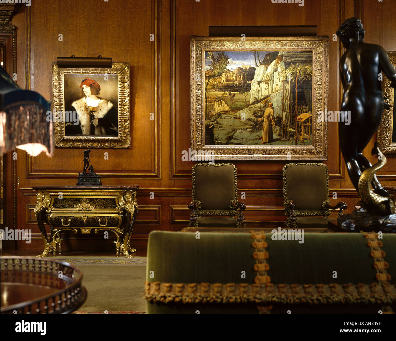 The Frick Collection Fifth Avenue New York Living Hall
