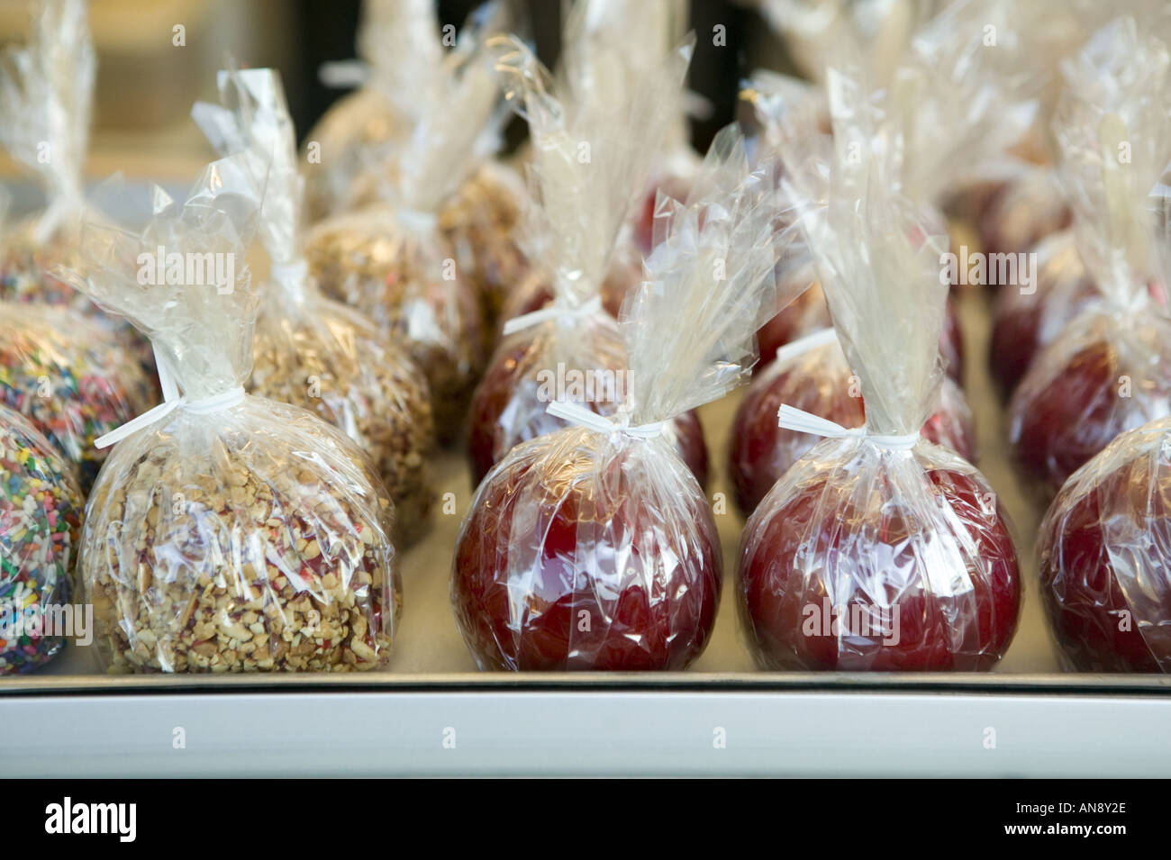 New york montgomery county fonda - Candy Apples Wrapped And Ready Fonda Fair Montgomery County New York