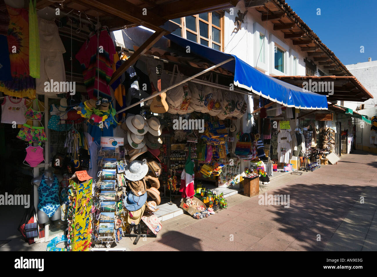 Shops In Plaza Malecon Flea Market Malecon Old Town