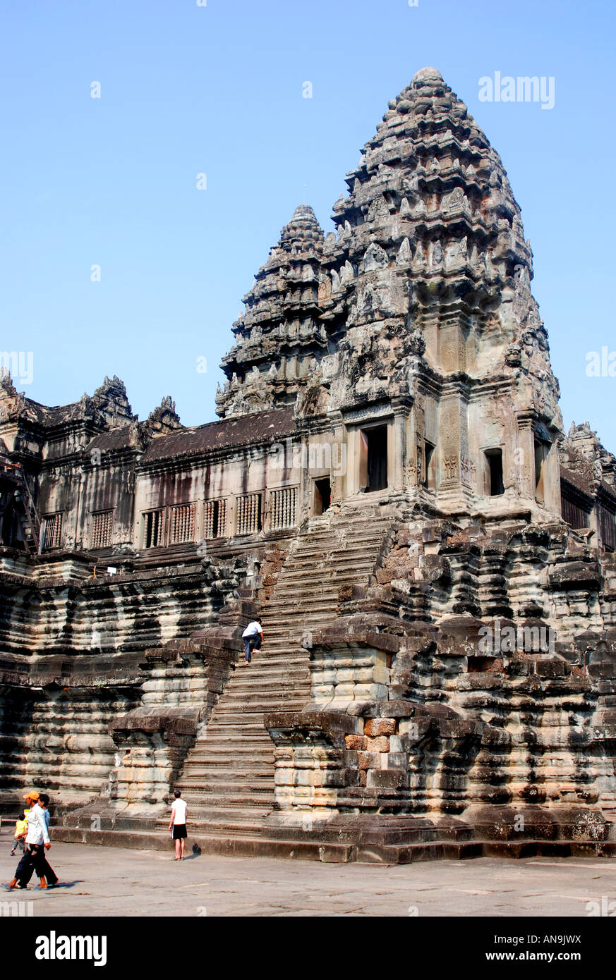 Cambodia Angkor Wat Classical Style Of Khmer Architecture