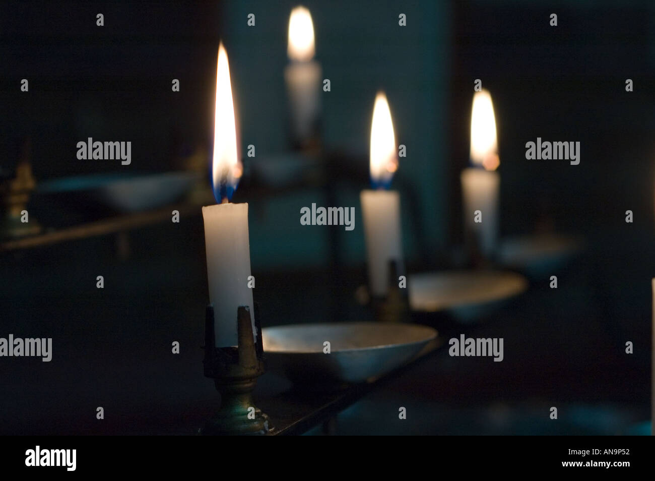 subdued lighting. Church Candles In An Old Beautifull Subdued Lighting Gives A Very Relaxed And Peacefull Feel To The Image \
