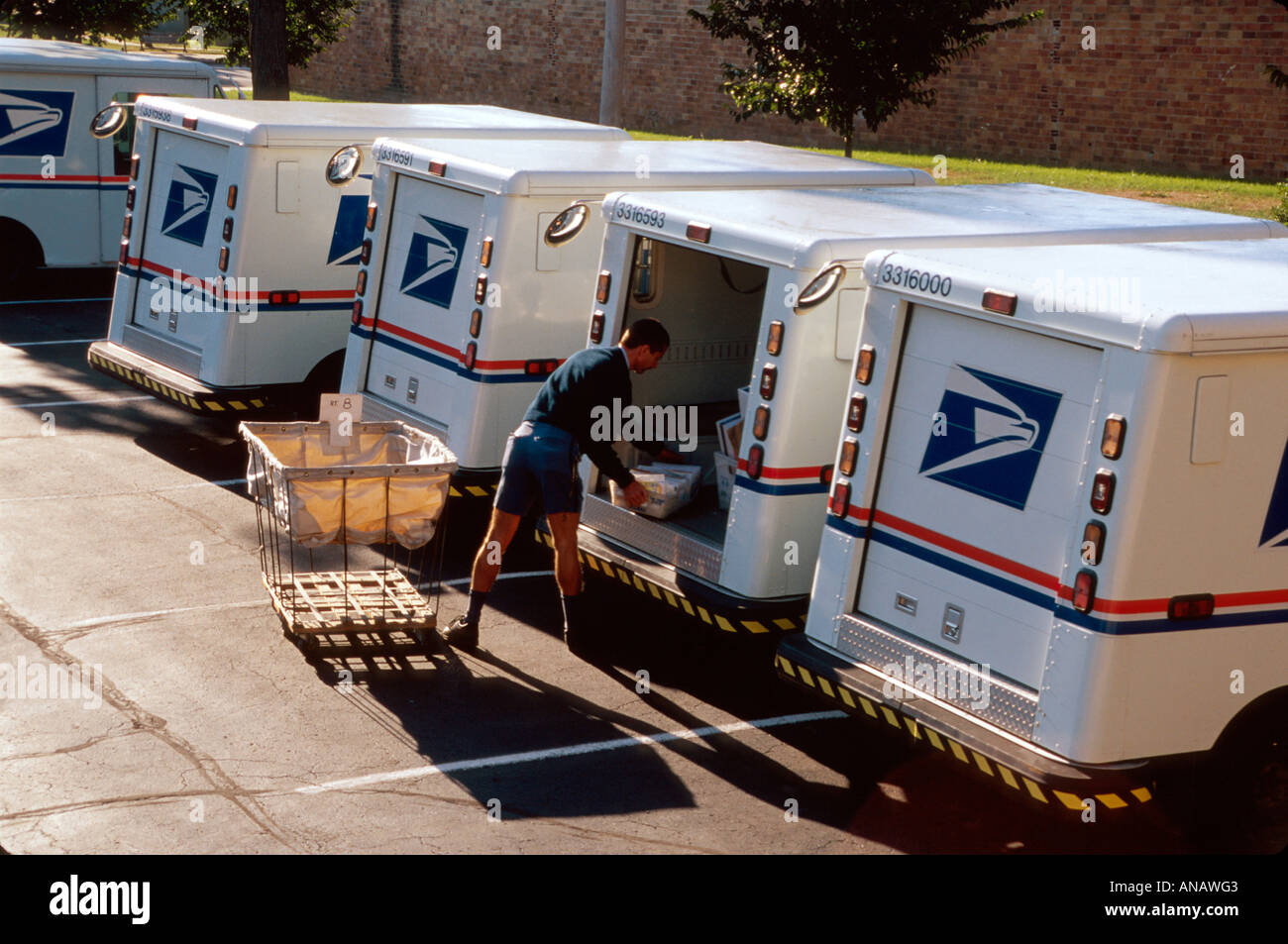 Ohio Oberlin US Post Office mail carrier delivery van mailman – Mail Carrier Job